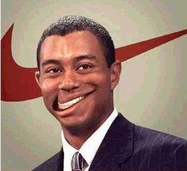 Tiger Woods status update jokes