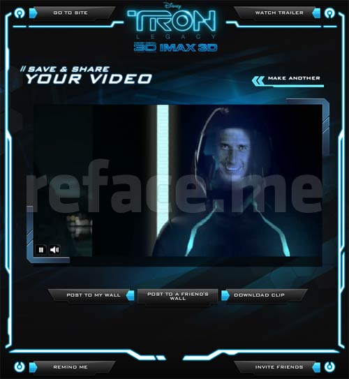 Tron Yourself