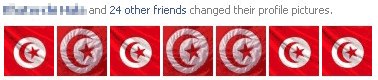Tunisia flag Facebook Profile Pictures