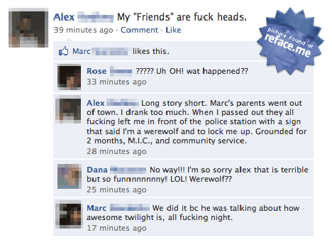 Facebook Twilight Fail 1