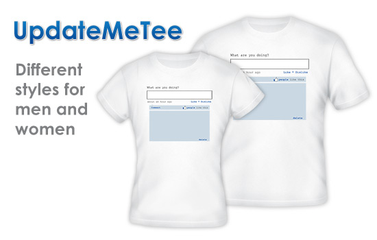 Update Me Tee