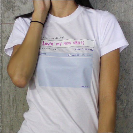 Rewritable Status Update Tee