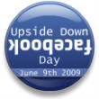 The official Upside Down Facebook Day I flair