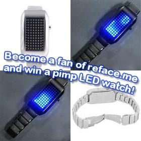 Win a pimp LED watch