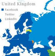 Updated World Map Of Social Networks 2011