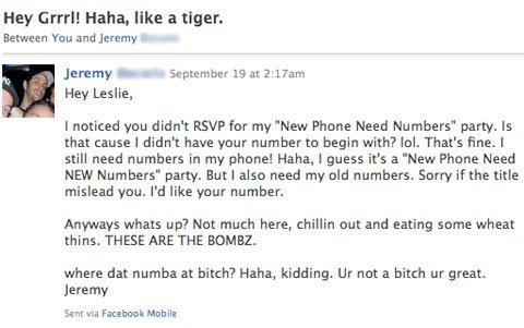 Worst Facebook stalker